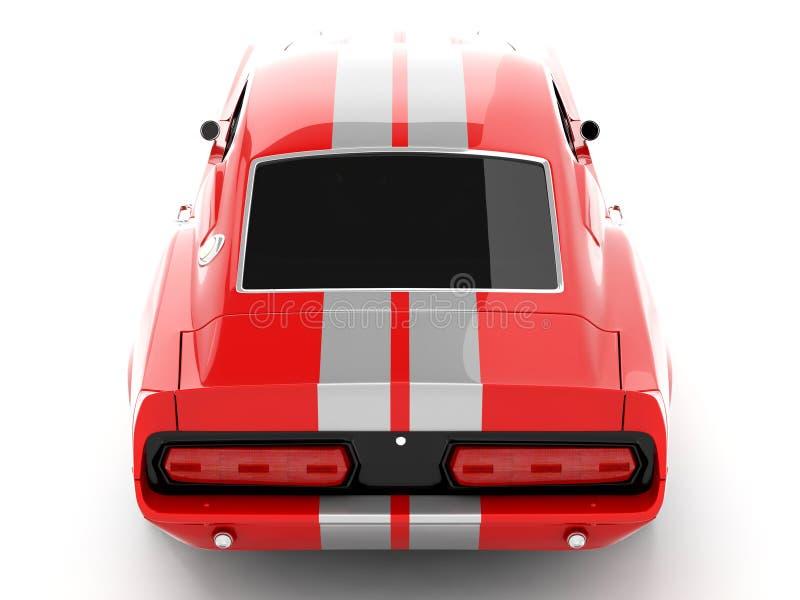 Mustango GT500 de Shelby ilustración del vector