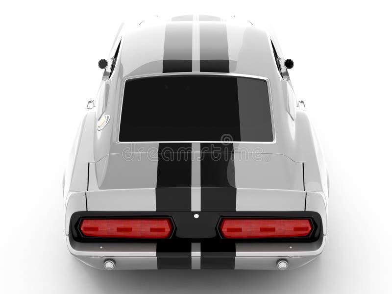 Shelby Mustang GT500 foto de archivo