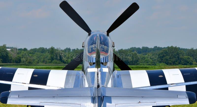 Mustango P-51 fotografía de archivo