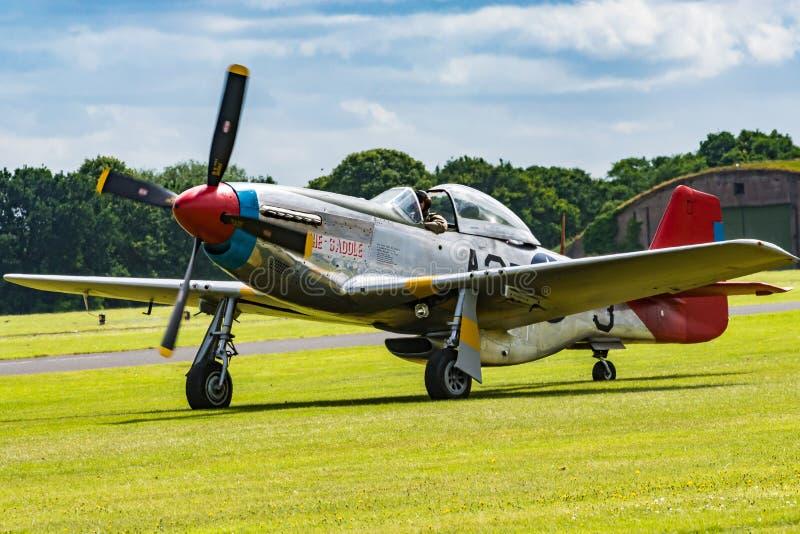Mustango P-51 imagen de archivo libre de regalías