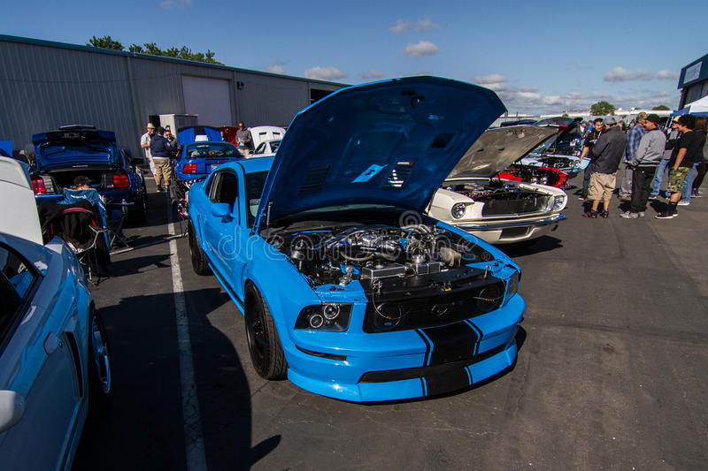 Download Mustangs Plus Stockton Ca Car Show 2014 Editorial Image - Image of trans, april: 39508955