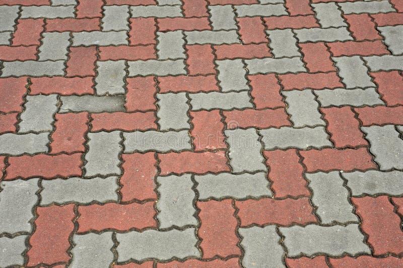 Muster auf dem Fußboden stockbild