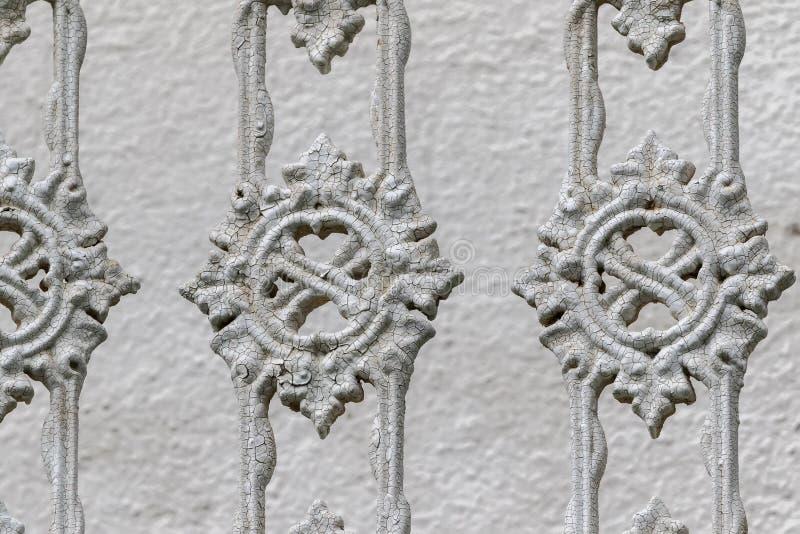 Muster auf einem alten Zaun lizenzfreie stockbilder