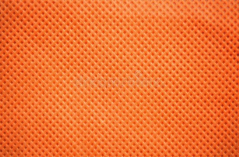 Muster-Beschaffenheitshintergrund des orange Gewebes geometrischer stockbild