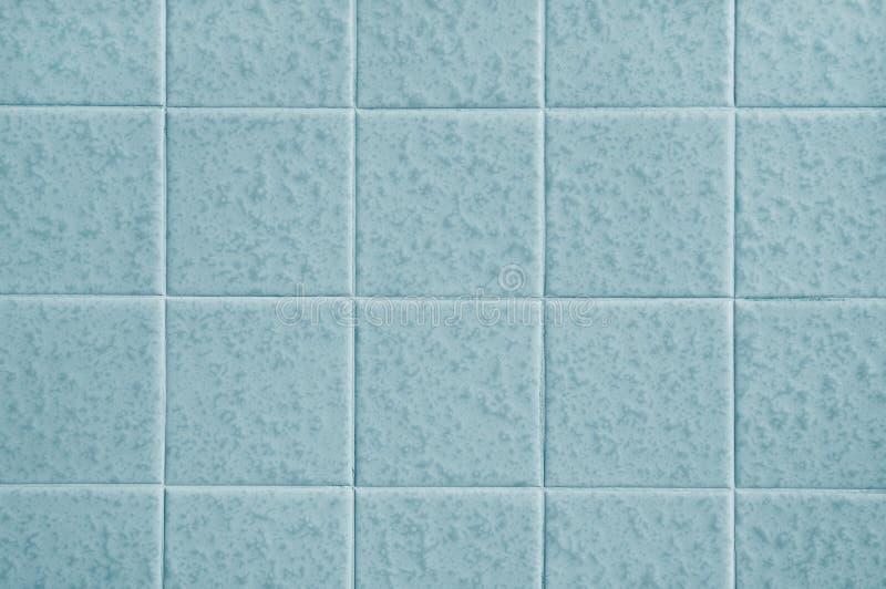 Muster der blauen Fliesen stockfotos