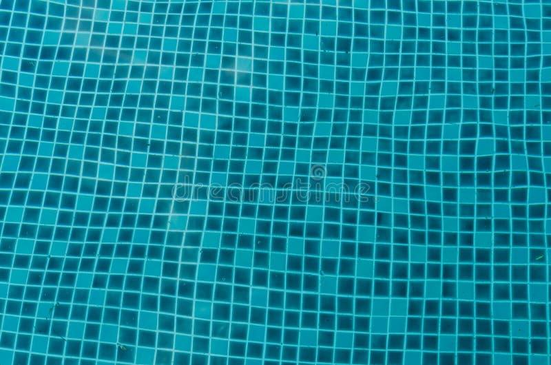 Muster der Fliese für Swimmingpool stockfoto
