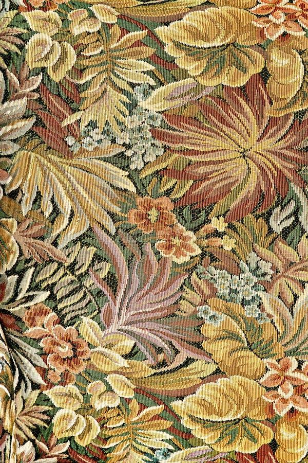 Muster der klassischen aufwändigen Blumentapisserie lizenzfreie stockfotografie