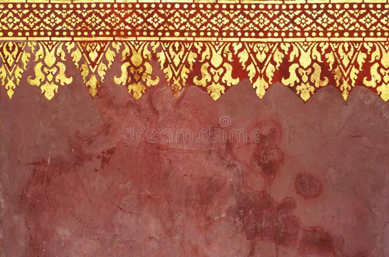 Muster der Kunst in Asien lizenzfreies stockfoto