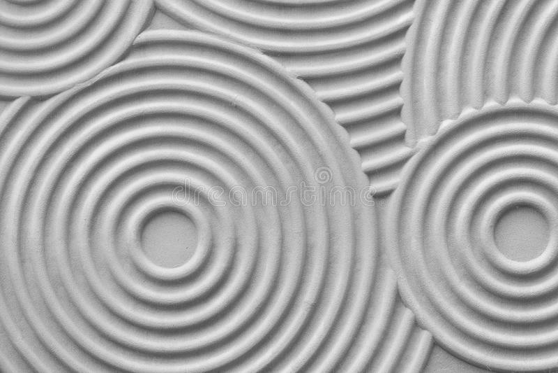 Kreis Muster Wand Stock-Fotos