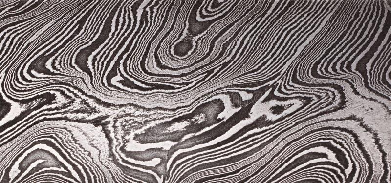 Muster des Damaststahls stockbild