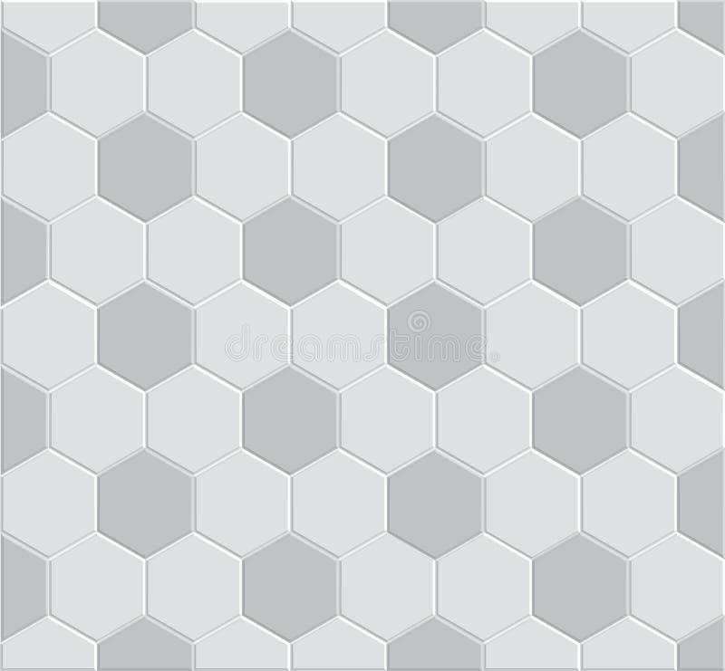 Muster des Fußballs 3d stock abbildung