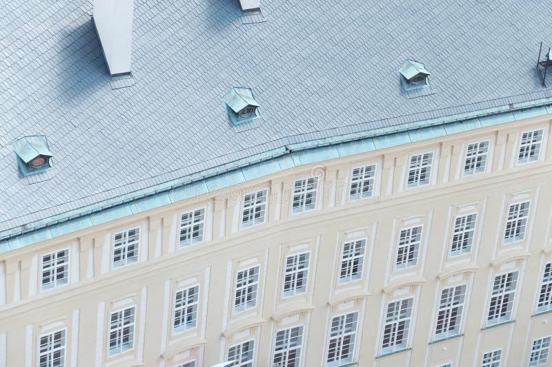Muster des Gebäudes stockbild