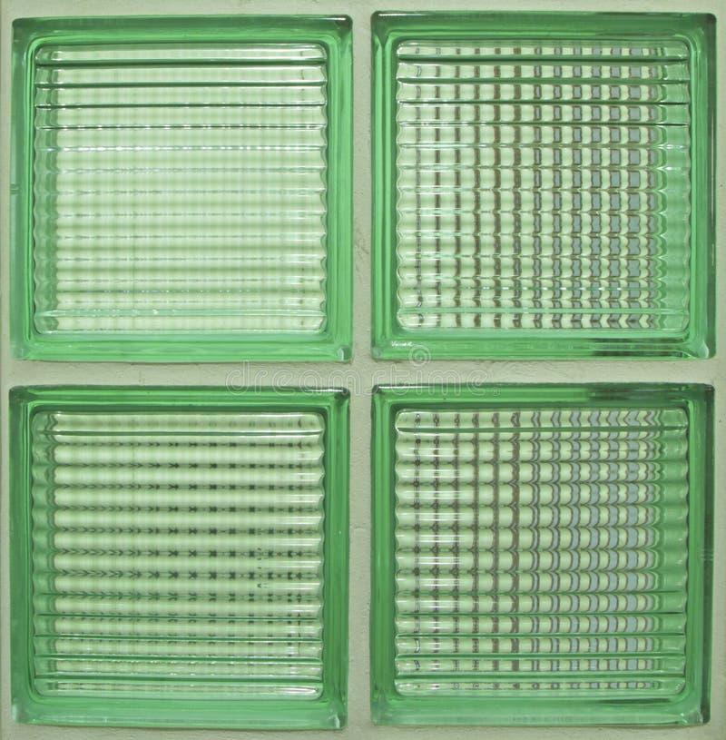 Muster des Glasblockes lizenzfreie stockfotos