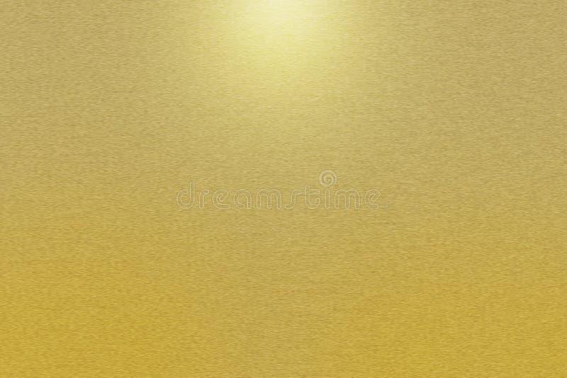 Muster des Goldmetallhintergrundes stockfoto