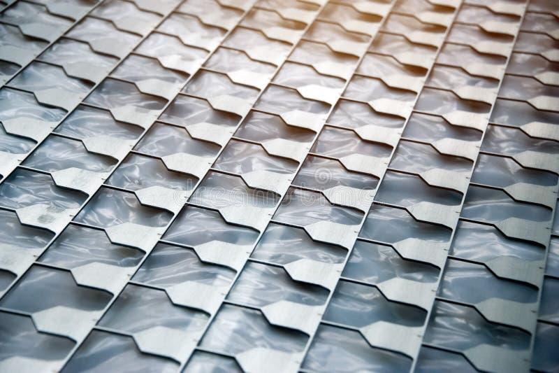 Muster des Metalls, die lochen lizenzfreie stockbilder