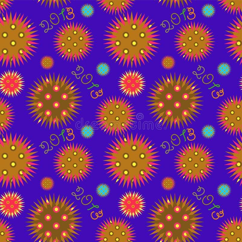 Download Muster des neuen Jahres vektor abbildung. Illustration von partei - 26365006