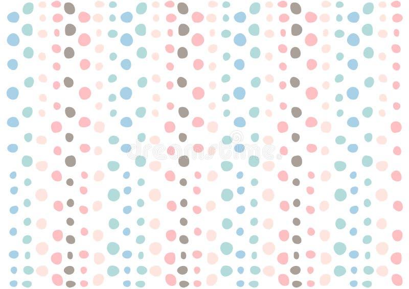 Muster designbeschaffenheit der punkte bunte grafisches for Bunte tapete
