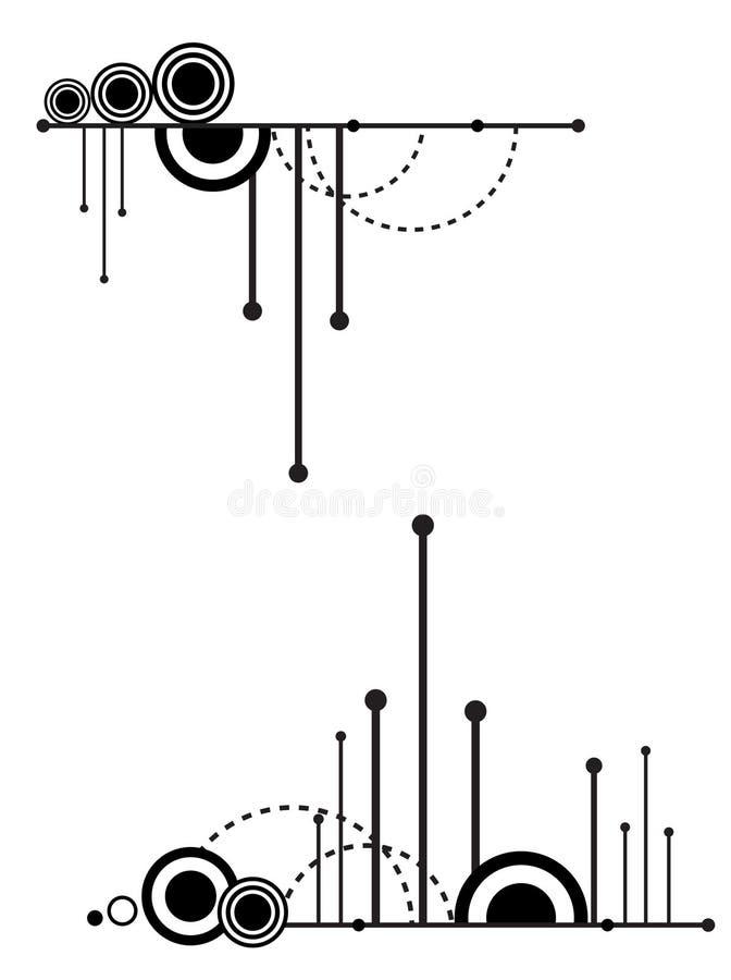 Muster für Auslegung. lizenzfreie abbildung
