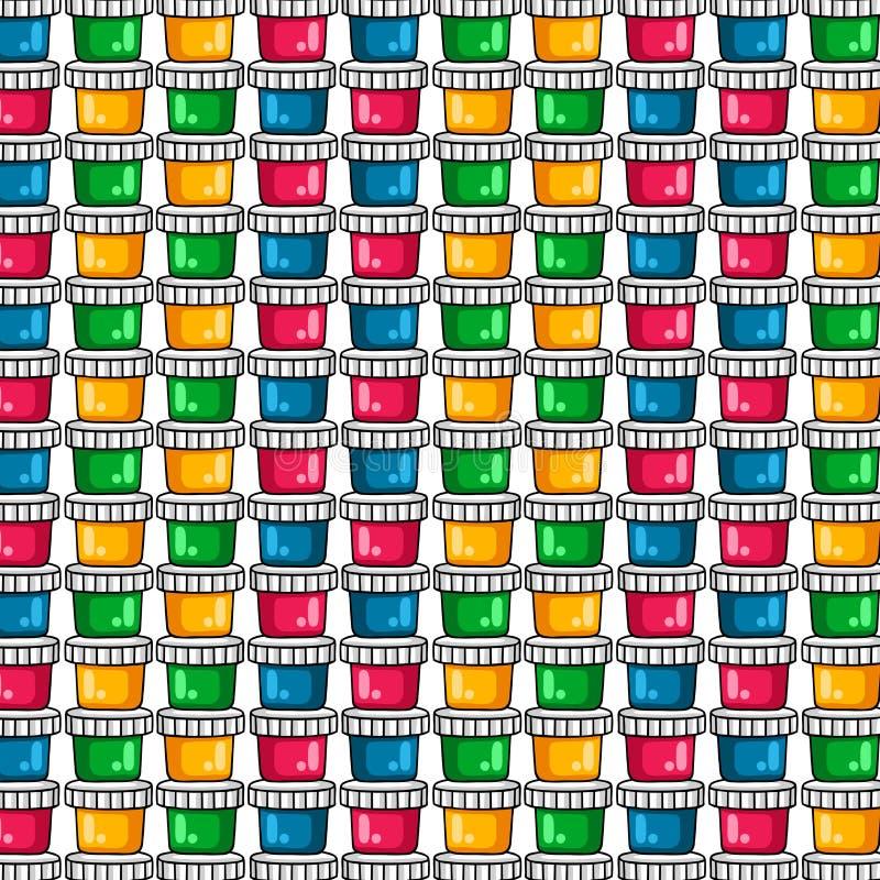 muster farben f r das zeichnen ein satz farbige farben auf. Black Bedroom Furniture Sets. Home Design Ideas