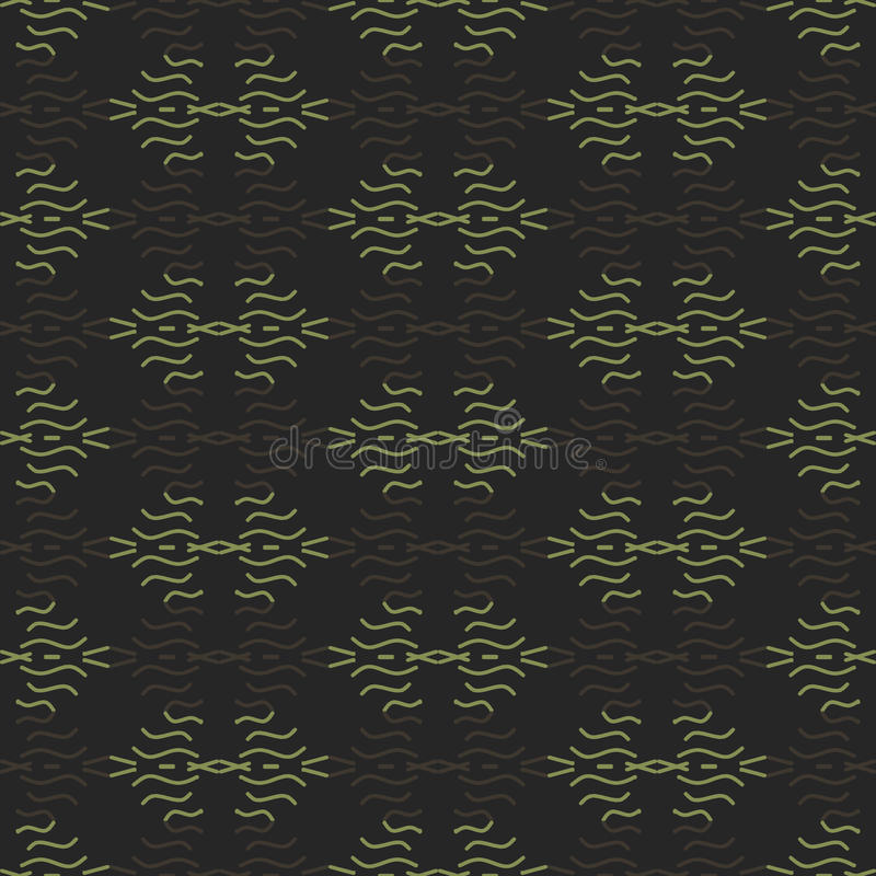 Muster farbige Wellen lizenzfreie stockfotografie