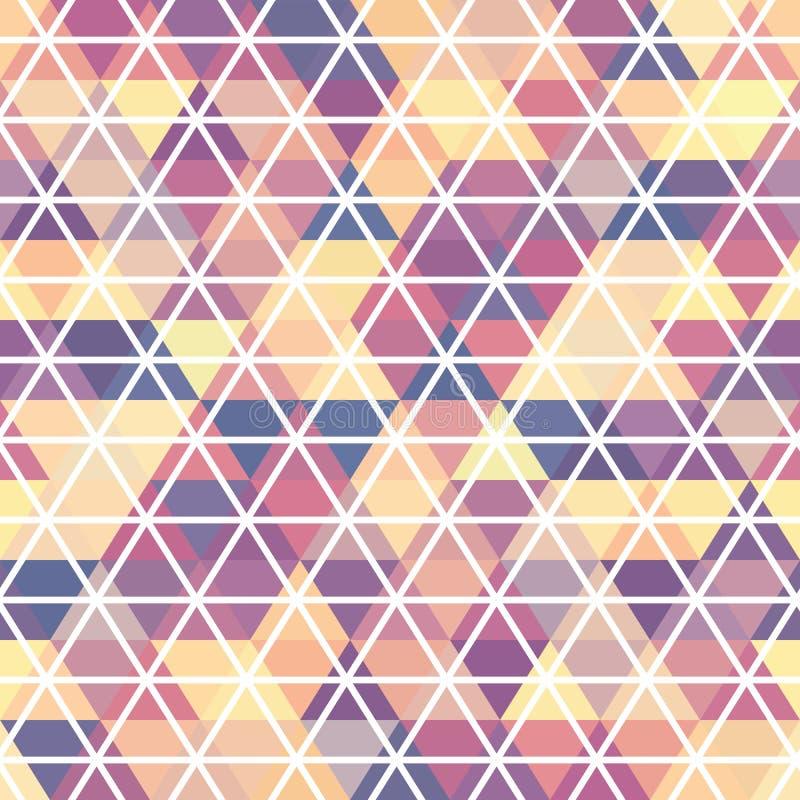 muster geometrisch hintergrund mit dreiecken vektor abbildung illustration von gewebe. Black Bedroom Furniture Sets. Home Design Ideas