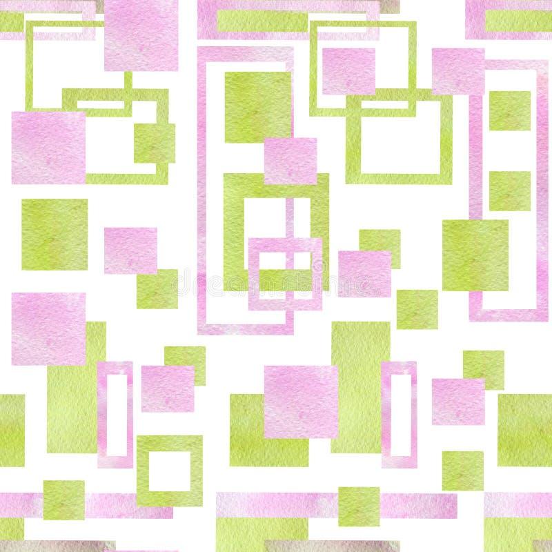 Muster mit geometrischen Formen lizenzfreie abbildung