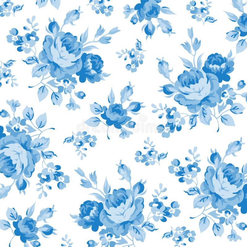 Muster mit Pastellrosarosen lizenzfreie stockfotos