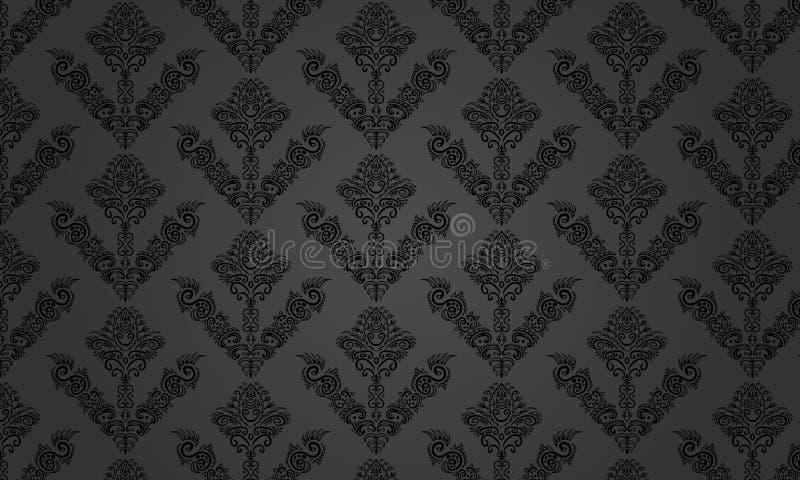 Muster schwarz-grau vektor abbildung