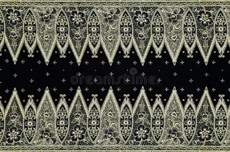 Muster-und Batik-Gewebe vektor abbildung