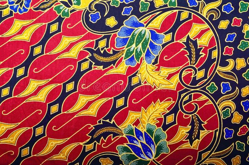 Muster-und Batik-Gewebe lizenzfreie abbildung