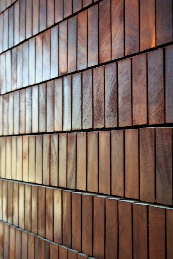 Muster von Holzbalken mit einem rechteckigen Querschnitt lizenzfreies stockfoto