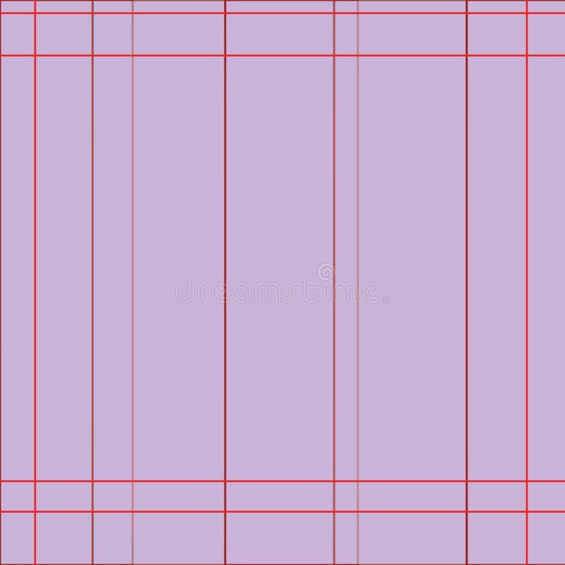 Muster von Linien Purpurhintergrund stockfotografie