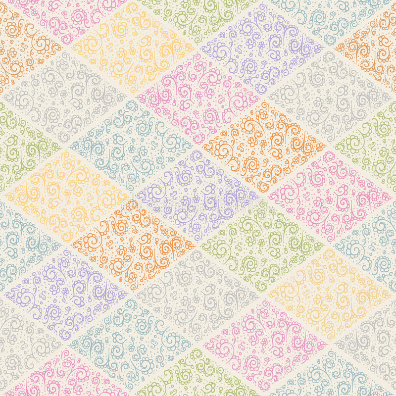 Muster von Rauten vektor abbildung