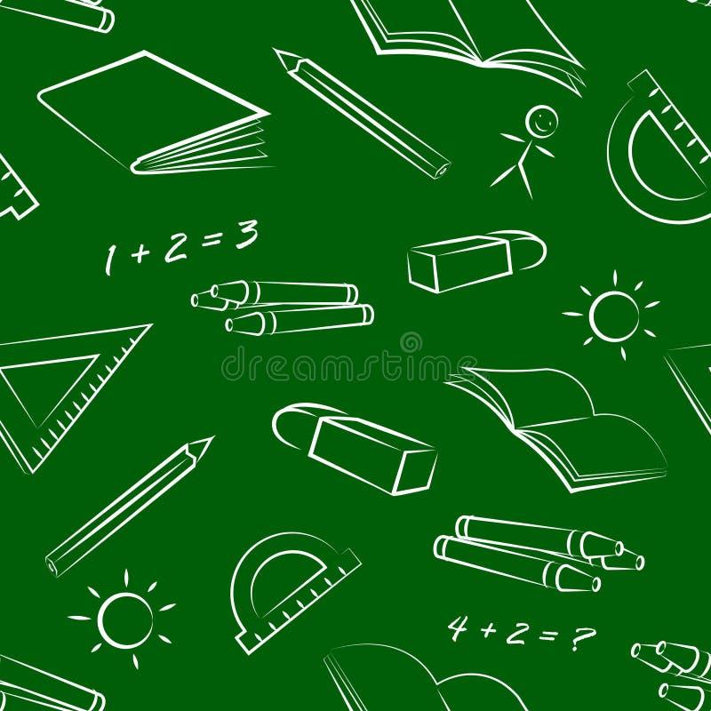 Musterbriefpapiernachricht vektor abbildung