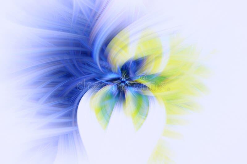 Musterkosmosgl?hen Fractalillustration Art Space vektor abbildung