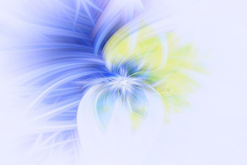 Musterkosmosgl?hen Fractalillustration Kunst vibrierend vektor abbildung