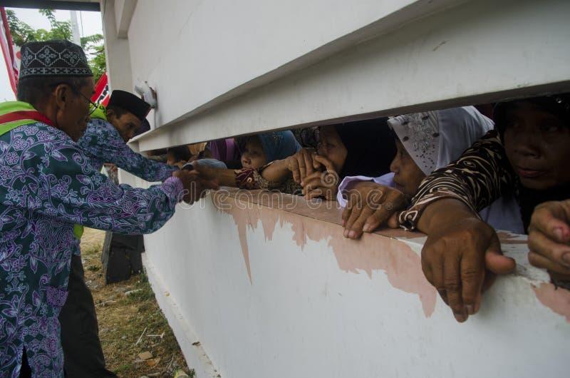MUSULMANS INDONÉSIENS photos libres de droits