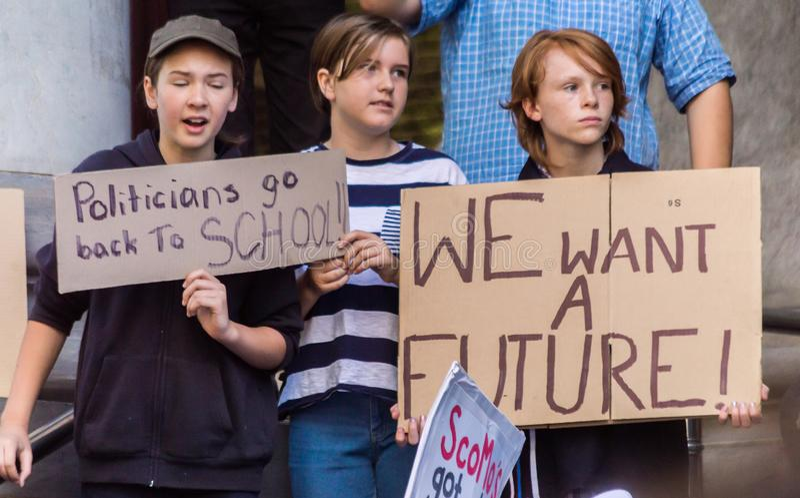 Mutamento climatico - Ides del marzo 2019 immagine stock libera da diritti