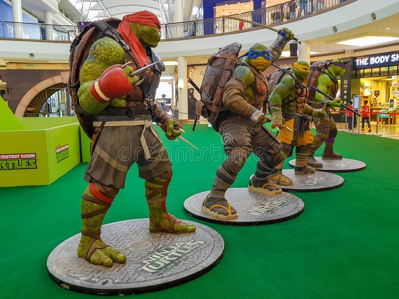 Mutant adolescent Ninja Turtle images stock