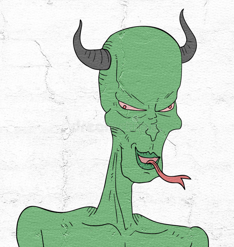 Mutant lizard vector illustration