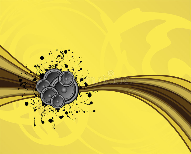 Muted speaker swoosh vector illustration