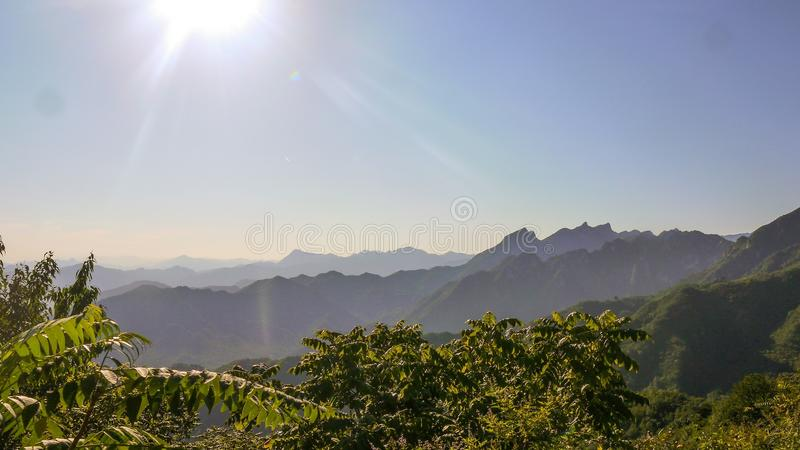 Mutianyu Greatwall royalty free stock images