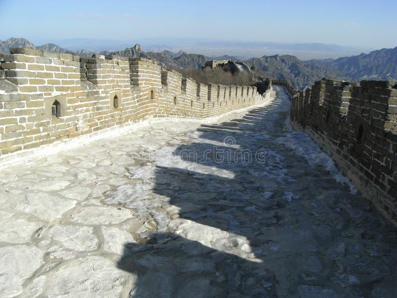 Mutianyu Wielki Mur Obrazy Stock