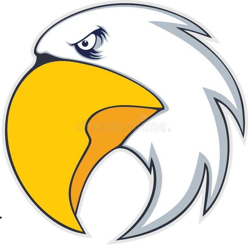 Mutiger Adlervogel stock abbildung
