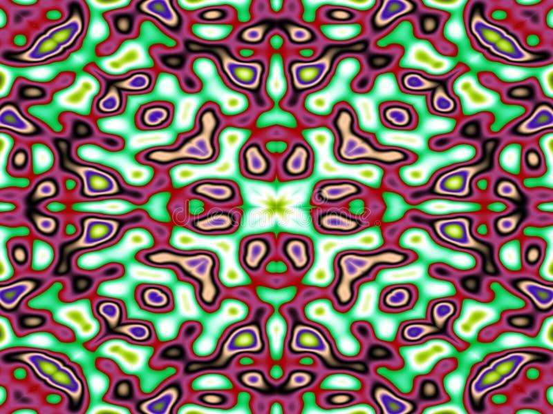 Mutiges Kaleidoskop stock abbildung