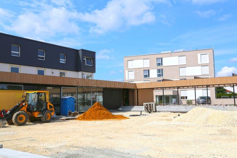 Mutlangen, Allemagne juin 17,2018 : Construction de la communauté b image libre de droits