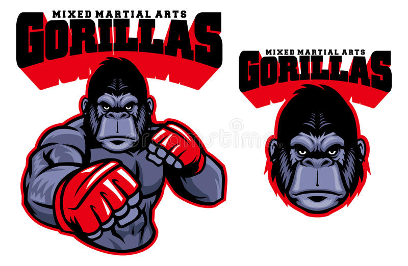 MUTTAHIDA MAJLIS-E-AMAL战斗机大猩猩 皇族释放例证