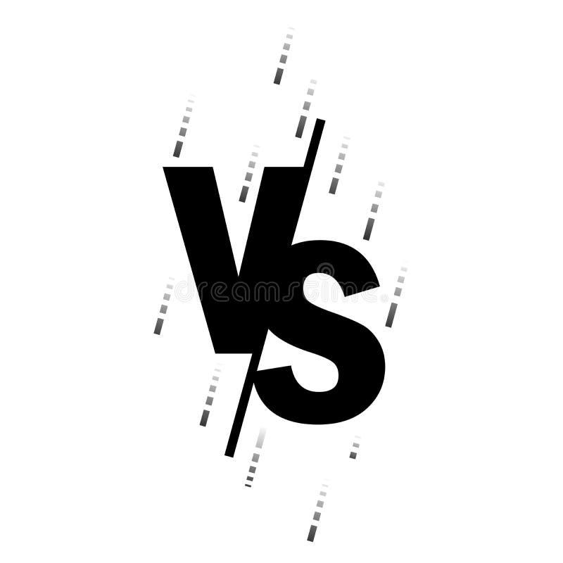Muttahida Majlis-E-Amal, UFS, batalla, el partido El LOGOTIPO es las letras para la competencia de la lucha Ilustraci?n del vecto stock de ilustración