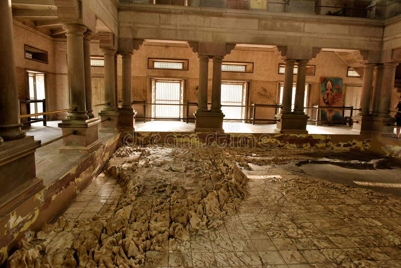 Mutter-Indien-Tempel Varanasi lizenzfreies stockfoto
