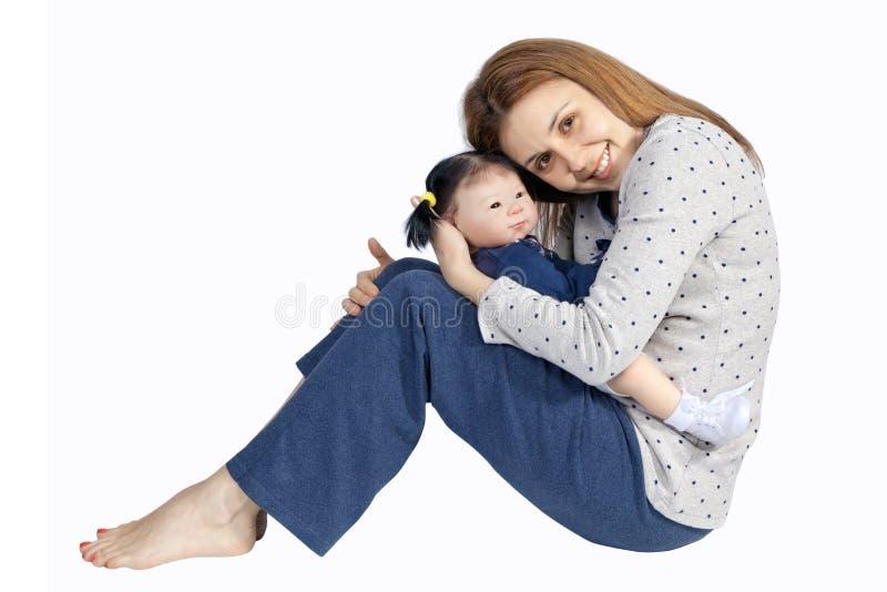 Mutter`s Liebe lizenzfreies stockbild